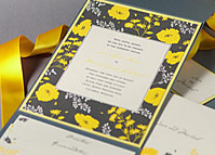 Wedding Invitations by Checkerboard